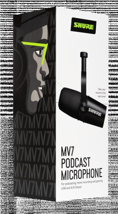 SHURE MV7 K (black)