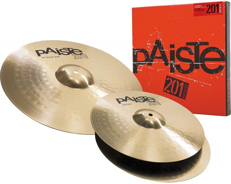 PAISTE 201 Bronze Essential Set