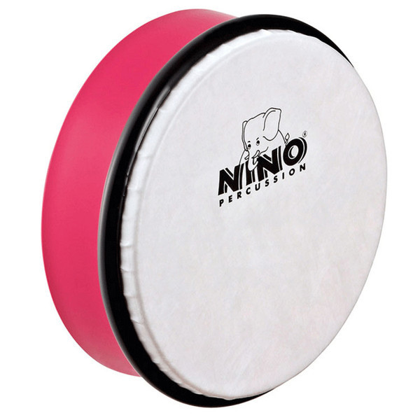 "NINO PERCUSSION NINO4SP ABS Hand Drum 6"" - Strawberry Pink"