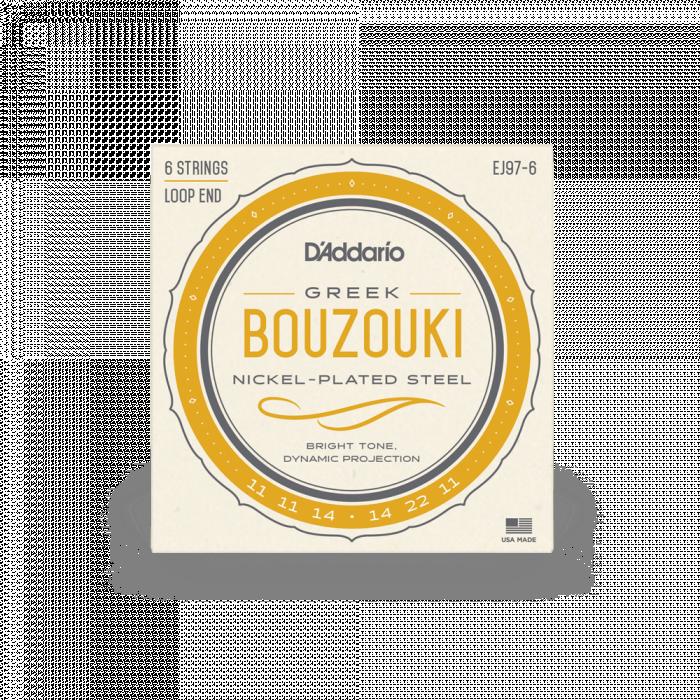 D'ADDARIO J97 Nickel Wound Bouzouki - .010 - .023