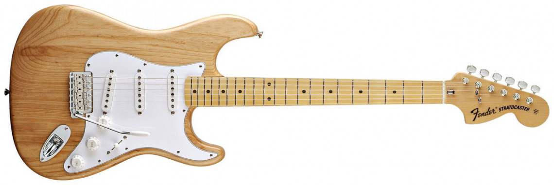 FENDER Classic Series 70s Stratocaster®, Maple Fingerboard, Natural