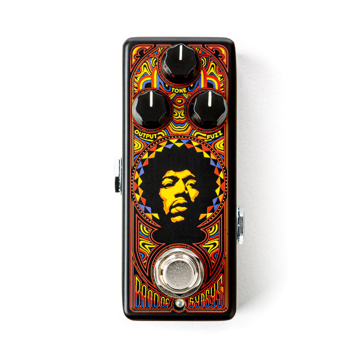 DUNLOP JHW4 Authentic Hendrix 69 Psych Band of Gypsys Fuzz
