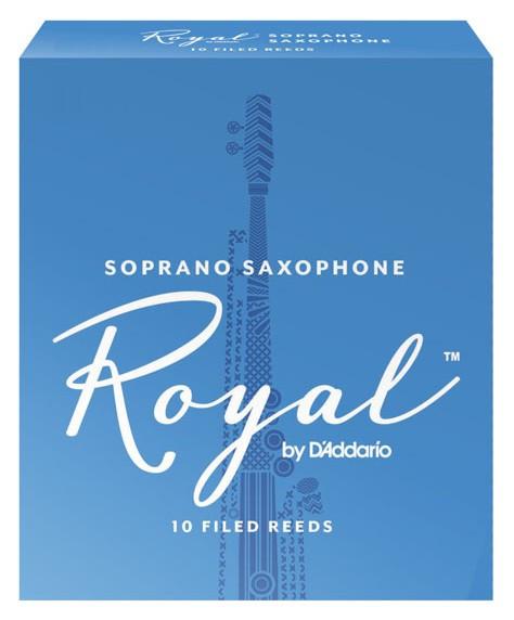 RICO RIB1025 Royal - Soprano Sax 2.5 - 10 Box