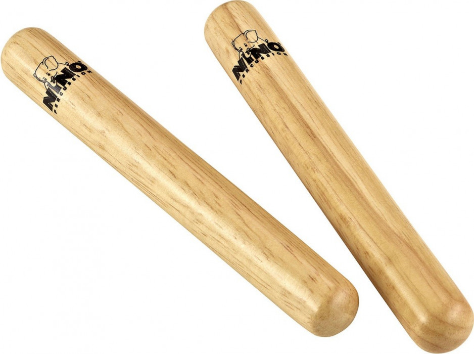 NINO PERCUSSION NINO574 Wood Claves Regular