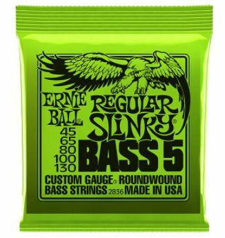 ERNIE BALL P02836 Regular Slinky Bass-5 45-130