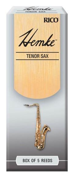 RICO RHKP5TSX250 Hemke - Tenor Sax Reeds 2.5 - 5 Box