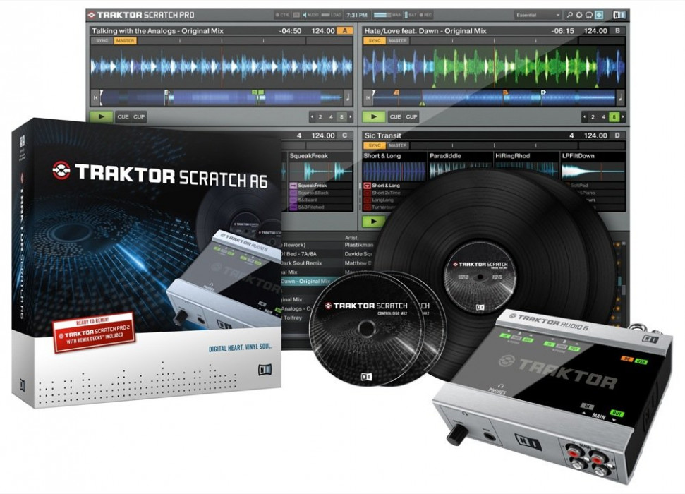 NATIVE INSTRUMENTS Traktor Scratch Audio A6