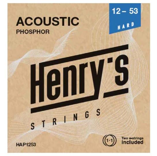 """HENRY'S STRINGS HAP1253 Acoustic Phosphor - 012"""" - 053"""""""
