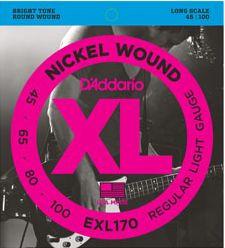D'ADDARIO EXL170 Regular Light - .045 - .100