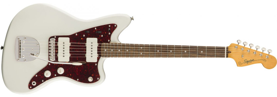 E-shop Fender Squier Classic Vibe 60s Jazzmaster Olympic White Laurel