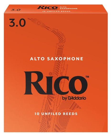 RICO RJA1030 - Alto Saxophone Reeds 3.0 - 10 Box