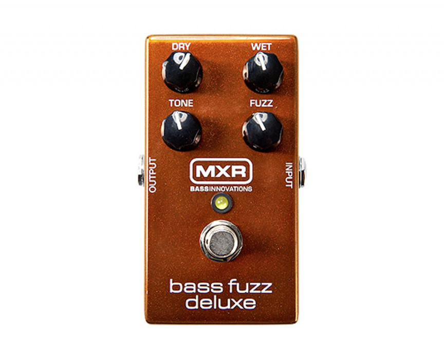 DUNLOP MXR Bass Fuzz Deluxe