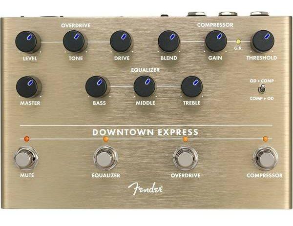 FENDER Downtown Express Bass Multi Effect