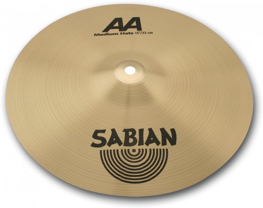 """SABIAN AA Medium Hi-hat 14"""" B."""