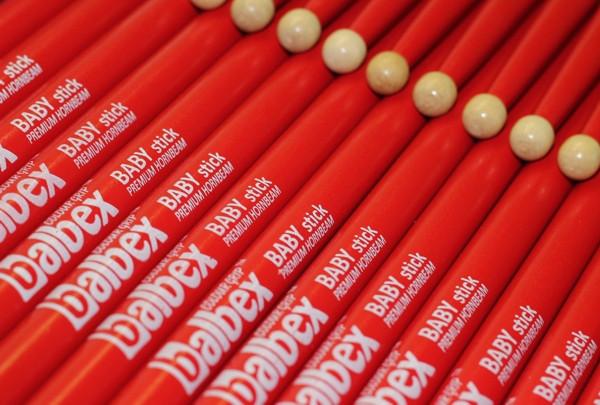 BALBEX Premium Habr Baby Stick Červené