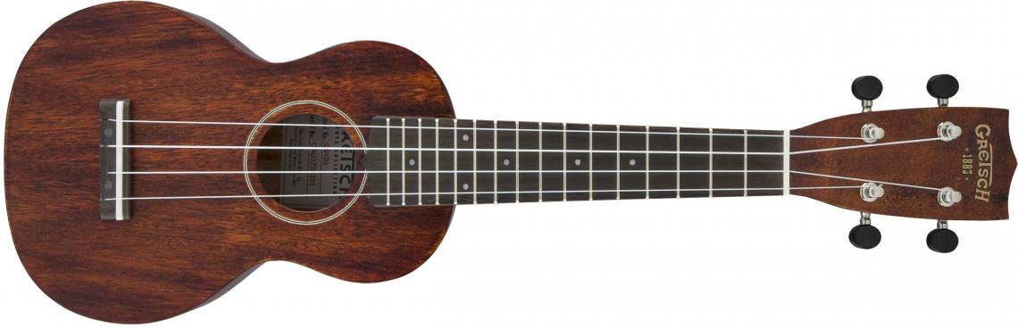 GRETSCH G9100 Soprano Standard Ukulele Mahogany Stain