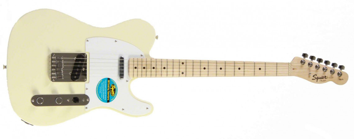 FENDER SQUIER Affinity Telecaster®, Maple Fingerboard - Arctic White