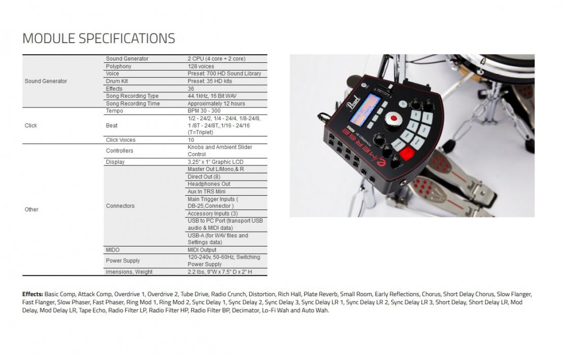 PEARL e/MERGE EM-53HB e/HYBRID Kit