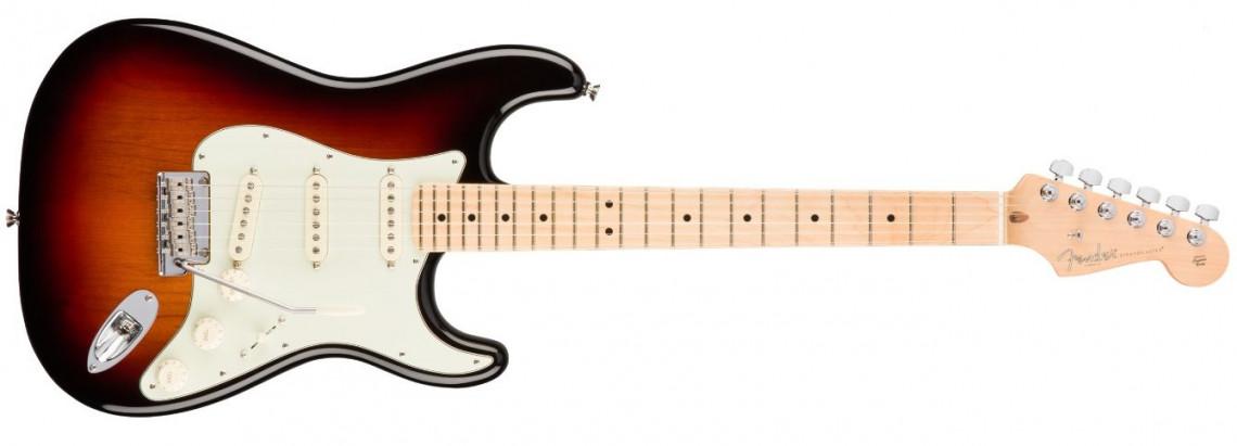 FENDER American Professional Stratocaster 3-Tone Sunburst Maple