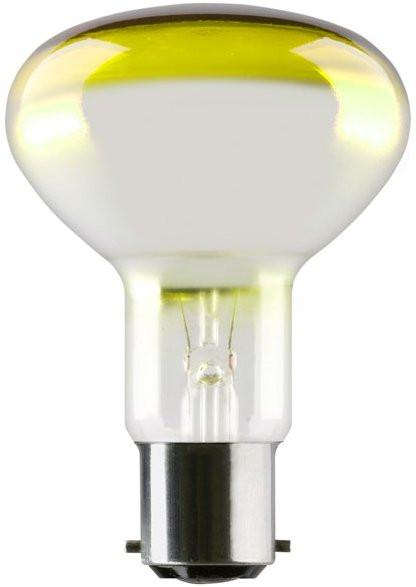 SYLVANIA Reflector R80 240V/60W E27 Yellow