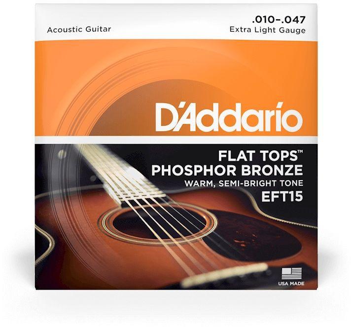 D'ADDARIO EFT15 - Extra Light - .010 - .047