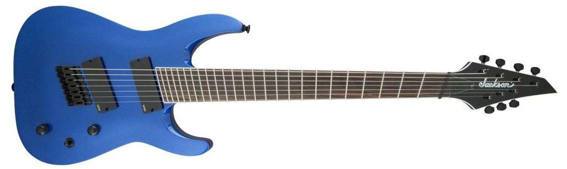 JACKSON SLAT7-FF Soloist Metallic Blue