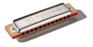 HOHNER Marine Band 364 D dur foukací harmonika, M364037