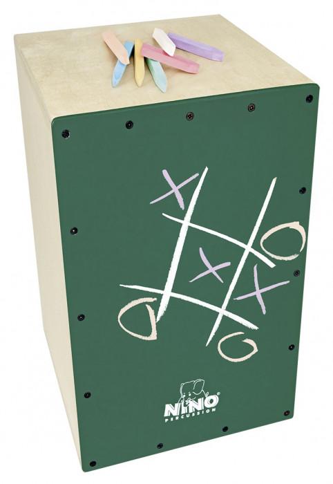 NINO PERCUSSION NINO951DG-MYO Make Your Own Chalkboard Cajon