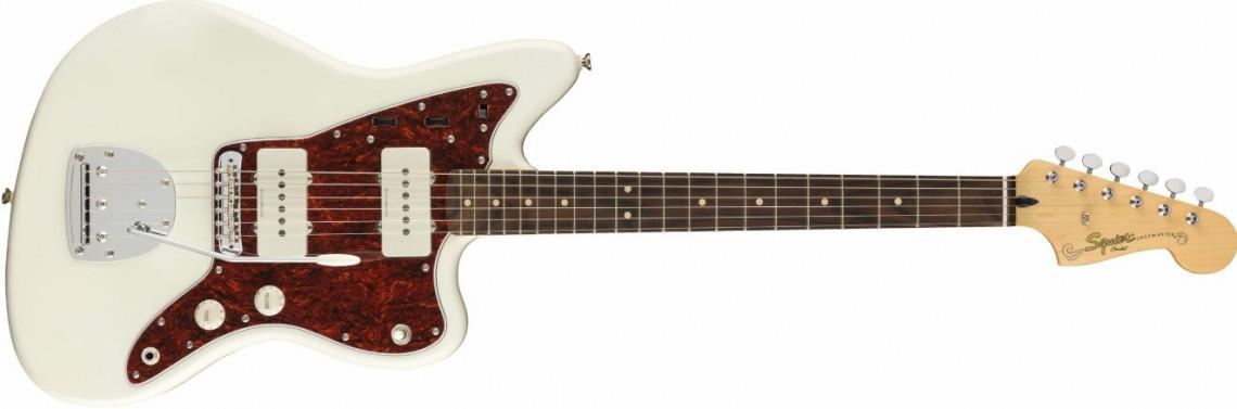 FENDER SQUIER Vintage Modified Jazzmaster Olympic White Laurel