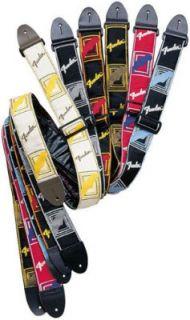 FENDER Jackquard Monogrammed Strap Black / Grey Blue