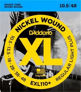 D'ADDARIO EXL110+ Regular Light - .010 - .048