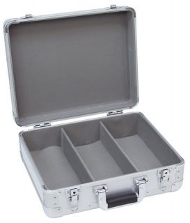 ROADINGER CD Case Alu Digital Booking stříbrný