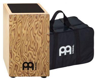 MEINL CAJ3MB-M+BAG Traditional String Cajon with Bag - Makah-Burl
