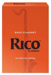 RICO REA1025 - Bass Clarinet Reeds 2.5 - 10 Box