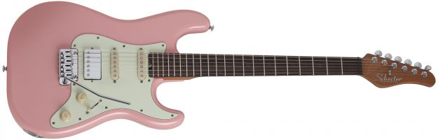 SCHECTER Nick Johnston Traditional HSS Atomic Coral
