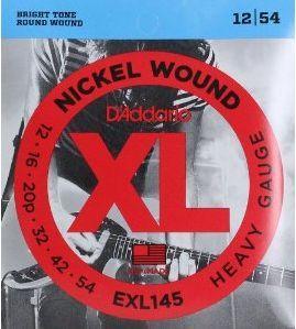 D'ADDARIO EXL145 Heavy - .012 - .054