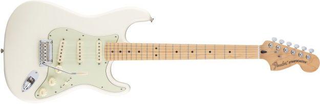 FENDER Deluxe Roadhouse Stratocaster Olympic White Maple