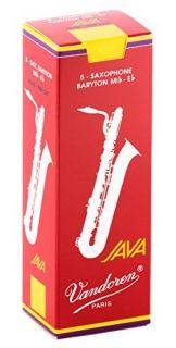VANDOREN SR343R JAVA  Filed - Red Cut - Baryton Saxofon 3.0