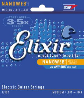 ELIXIR NANOWEB Anti-Rust .011 - .049