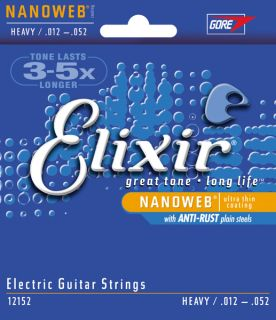 ELIXIR NANOWEB Anti-Rust .012 - .052