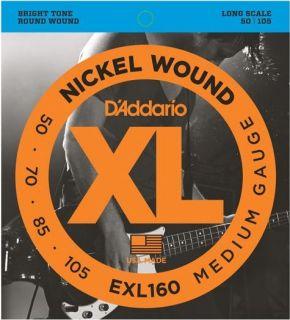 D'ADDARIO EXL160 Medium - .050 - .105