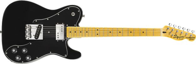 FENDER SQUIER Vintage Modified Telecaster® Custom, Maple Fingerboard, Black