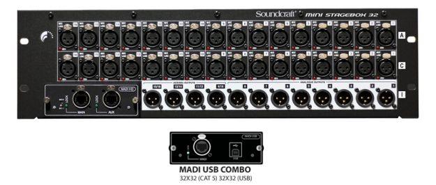SOUNDCRAFT Mini-Stage box 32R