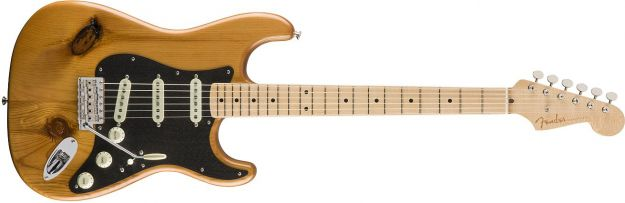 FENDER 2017 Limited Edition American Vintage 59 Pine Stratocaster Natural Maple