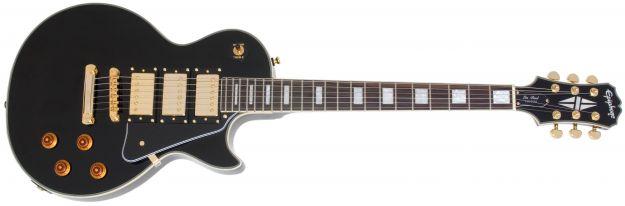 EPIPHONE Les Paul Custom Black Beauty 3, Rosewood Fingerboard - Ebony