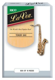 RICO RKC10HD La Voz - Tenor Sax Hard - 10 Box