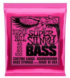 ERNIE BALL P02834 Super Slinky Bass 45-100