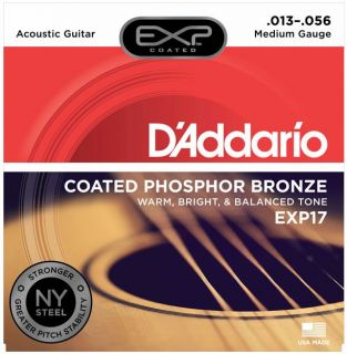D'ADDARIO EXP17 Phosphor Bronze - .013 - .053
