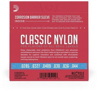 D'ADDARIO EJ27H Classic Nylon Heavy - .029 - .044