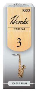 RICO RHKP5TSX300 Hemke - Tenor Sax Reeds 3.0 - 5 Box